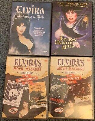 ELVIRA, MISTRESS OF THE DARK: 6 DVDs! Haunted Hills, Movie Macabre and More!