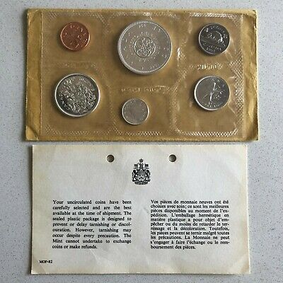 1964 Canada Proof Like - Uncirculated Coin Set W/ Envelope & COA Mint