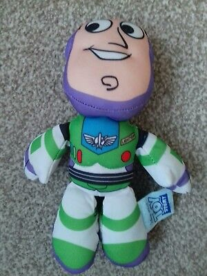 Toy Story Disney Pixar Buzz Lightyear Character Mini Beanie Soft Toy Kids TV 4