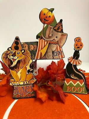 Bethany Lowe Halloween Big Top Dummy Boards: RL7305 (Set of 3)