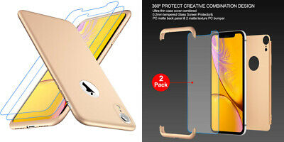 coque iphone xr 2 pieces