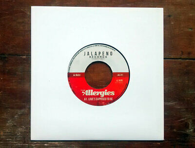 """The Allergies - Love's Supposed To Be // Vinyl 7"""""""