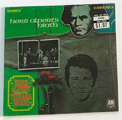 SEALED 1967 LATIN JAZZ LP / Herb Alpert & The Tijuana Brass / NINTH
