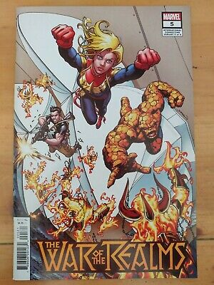 ⭐️ THE WAR of the REALMS #5e (2019 MARVEL Comics) VF/NM