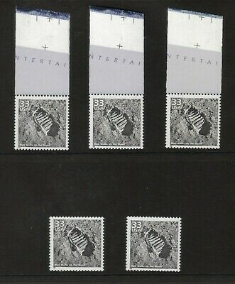 5 Celebrate the Century Man Walks on the Moon 3188c MNH stamps 1960s