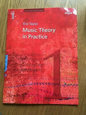 Music Theory in Practice  Grade 1  by  Eric Taylor,  ABRSM.  Exam workbook