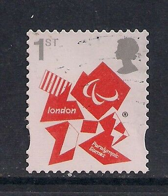GB 2012 QE2 1st London Olympic Paralympic Games Emblem  SG 3250 ( M584 )