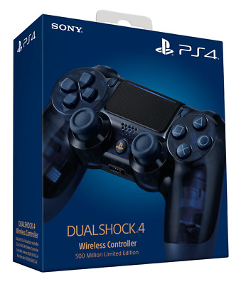 Playstation PS4 500 Million Limited Edition Dualshock Controller NEW & SEALED