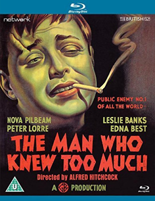 D.A. Clarke-Smith, Peter Lorre-Man Who Knew Too Much Blu-ray NEW