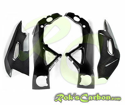 Carbon protection set ( frame + swingarm covers ) Aprilia RSV4 RF 2015 -