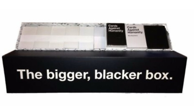 Cards Against Humanity The BIGGER BLACKER BOX + 1-6 Expansion Cards