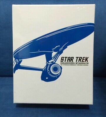 Bluray Star Trek Collection Stardate - EDICION ESPAÑA - 10 películas originales