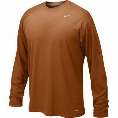 NWT Nike Men/'s Dri-Fit Dry Fitted Long Sleeve Tee Shirt Size M L XL 727980