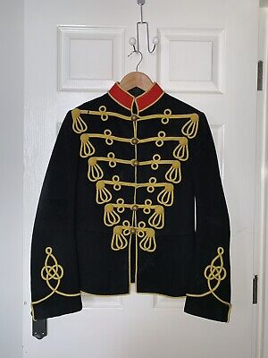 British Army 3rd Hussars Pre-WWI Dress Ceremonial Military Tunic/Jacket (Small)