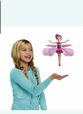 🌸Flying fairy doll toy wings ideal gift 🌸 7 pink 1 yellow
