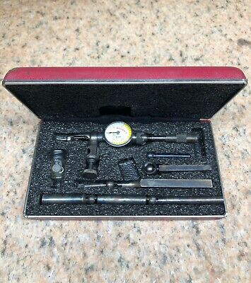 Starrett .001 Last Word 711 Dial Universal Test Indicator in Case