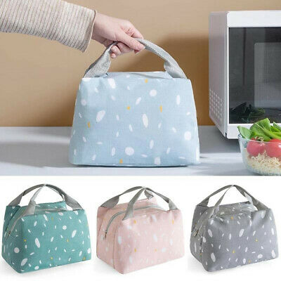 INSULATED LUNCH BAG Adult Small Lunch Box For Work Office