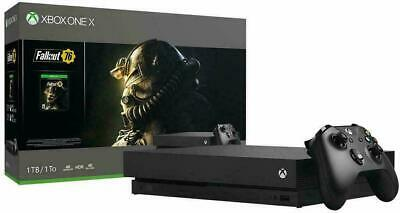 Microsoft CYV-00146 Xbox One X 1TB Console - No Game Included