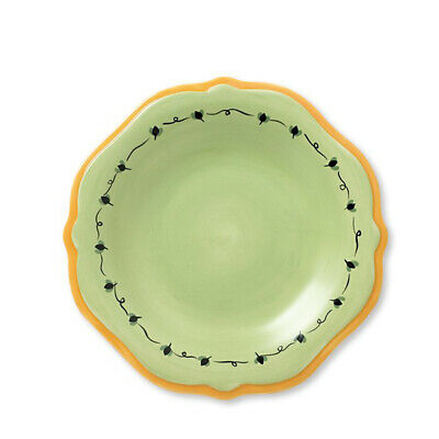 Pfaltzgraff Pistoulet Salad Plate with Yellow Band