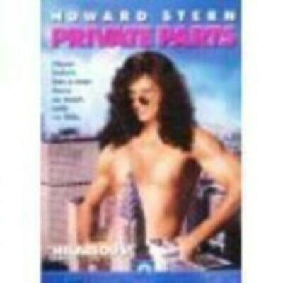 Private Parts by Howard Stern Dvd