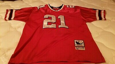 the latest 3bf29 27aad DEION SANDERS JERSEY Mitchell & Ness Falcons 1990 Throwback ...