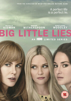 Big Little Lies - UK Reg. 2 DVD - Reese Witherspoon / Nicole Kidman / Laura Dern