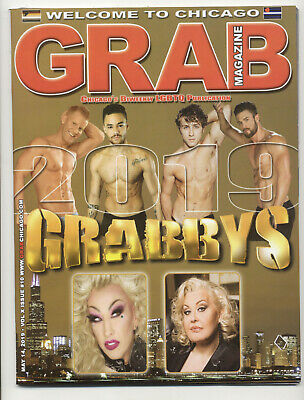 Grab Chicago Magazine Chicago's Biweekly LGBTQ Publication May 14, 2019