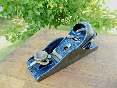 STANLEY No.9-1/2 Low Angle Block Plane W/ Adjustable Throat STANLEY MADE IN USA
