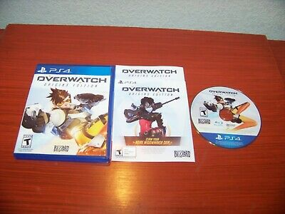 Overwatch Origins Edition Ps4 Game No Scratches Sony Playstation 4