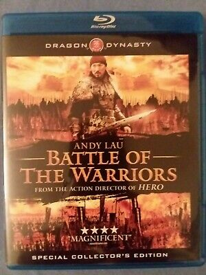 Battle of the Warriors (Blu-ray Disc, 2011 Canadian) Special Collector's Edition