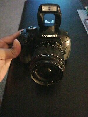 Canon DS126311 EOS Rebel T3i Digital Camera with EFS 18-55mm lens w/ battery