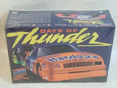 NIB Monogram Days of Thunder #18 Hardee's Lumina Stock Car Kit Scale 1:24 #2920