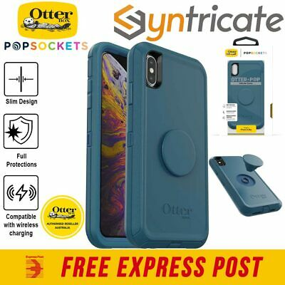 iPhone XS Max Otterbox Otter + Pop Defender Case - Winter Shade