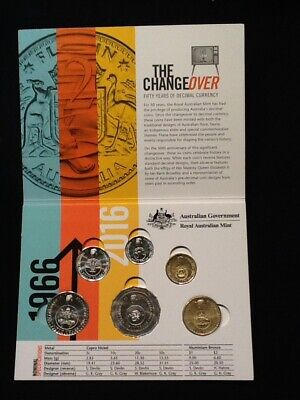 2016 Ram Uncirculated Coin Set - The Changeover
