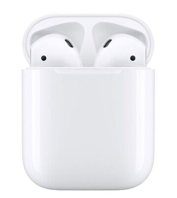 Apple Airpods 2nd Generation With Charging Case- White New Sealed In Box  Sealed