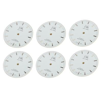 Professional 7120 Round Clocks Face Dial Watch Replacement Accessory 29cm/11.4in