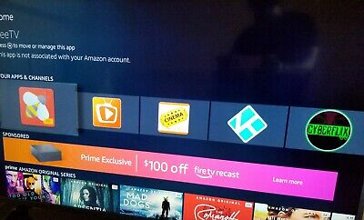Fire TV  Hacked  18.3  ready to Plug N Play 3rd gen 4K  HDR