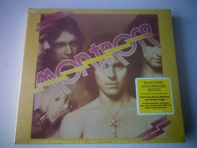 Montrose Montrose 2 Cd Remastered & Expanded Edition New And Sealed