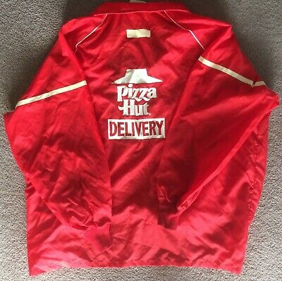 Pizza Hut Delivery Jacket Vintage XL Made In USA Rare Dougie 13 11 66 McDonalds