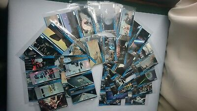 STAR WARS WIDEVISION CARDS (Topps,1994) #1-66