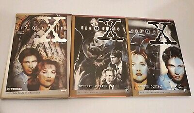 X-files Graphic novels: Remote Control, Internal Affairs and Firebird