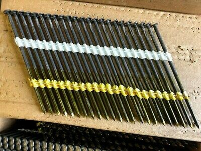 3.8 x 130mm Collated Strip Nails. Atro 2381370 fit Berta Stick Nailer. 23 Nails
