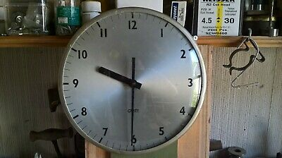 vintage gents of Leicester electronic school/office wall clock