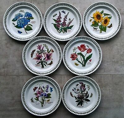 "PORTMEIRION BOTANIC GARDEN DINNER PLATE 10.5"" (26.5 cm) WIDE NEW"