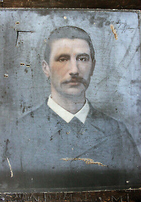 Antique 19thC French School Oil on Canvas Portrait of a Gentleman c.1890