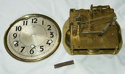 1920/30's HERMAN MILLER Chiming Clock Movement & Face