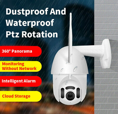 XIAOMI 1080P HD Waterproof Outdoor WiFi PTZ IP IR Camera Night Vision EU Plug