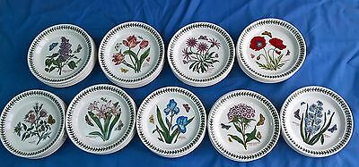 "PORTMEIRION BOTANIC GARDEN SIDE PLATES 8.4"" (21.5 cm) WIDE NEW"