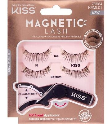 Kiss Ciglia Magnetiche - Magnetic Lash Con Applicatore Ez Load N° Kmag01C