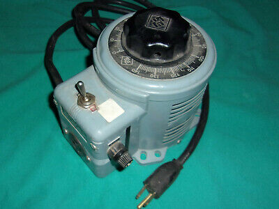 Superior Electric Powerstat 3PN116B Variable Autotransformer Tested OK! Clean!